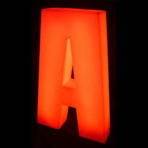Lumaform letter A