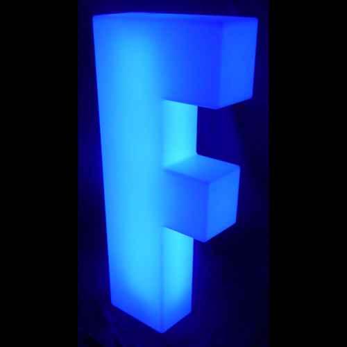 Lumaform letter F
