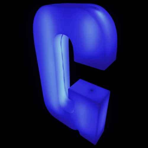Lumaform letter G