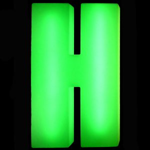 Lumaform letter H