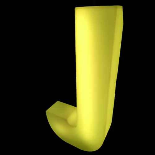 Lumaform letter J
