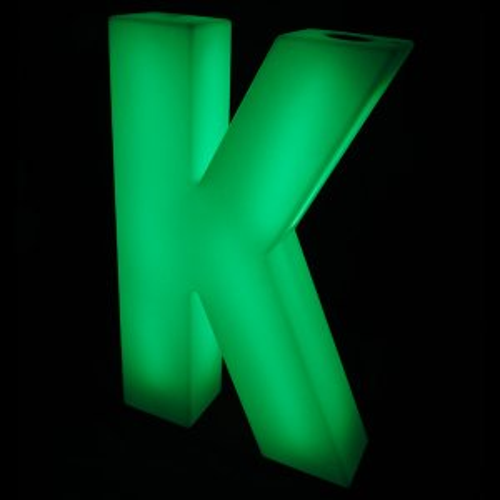 Lumaform letter K