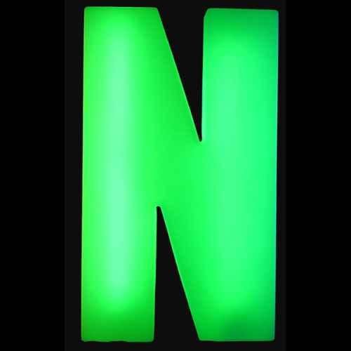 Lumaform letter N