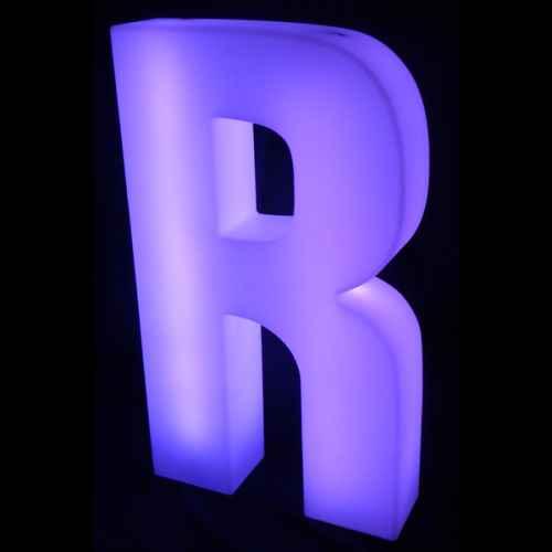 Lumaform letter R