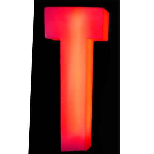 Lumaform letter T