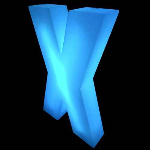 Lumaform letter X