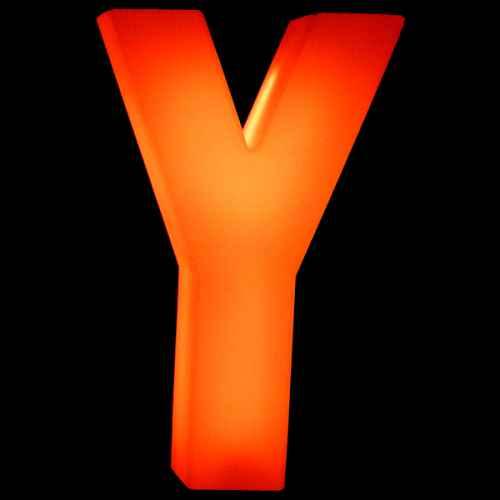 Lumaform letter Y