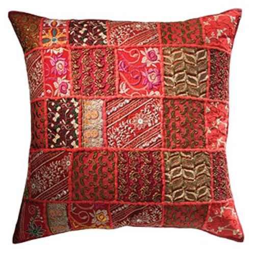 FUR645 Khambadia Patchwork Cushion 60 x 60