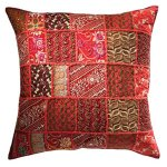 FUR645 Khambadia Patchwork Cushion 60 x 60