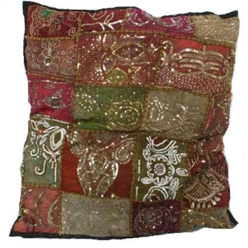 FUR644 Large Jewelled Cushion