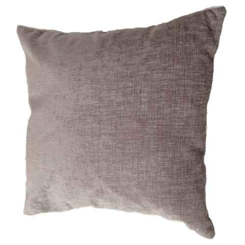 FUR655 Silver Chenille Cushion