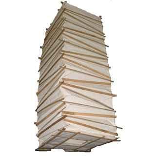 +CHI304 Bamboo & Paper Hanging Shade