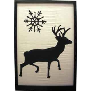 +CHR010 Reindeer silhouette A