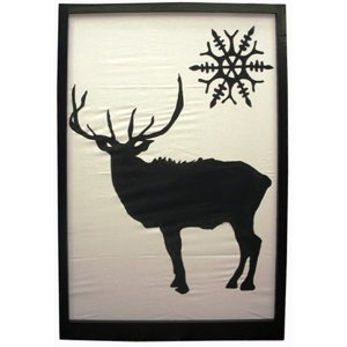 +CHR010.1 Reindeer silhouette B