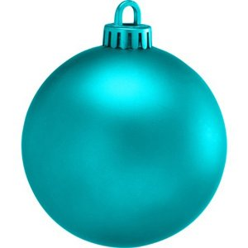 +CHR335XT Bauble Turquoise Matt