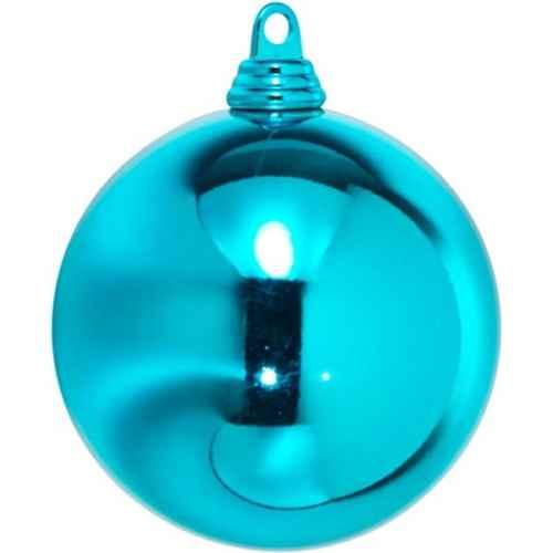 +CHR335XT.S Bauble Turquoise Shiney