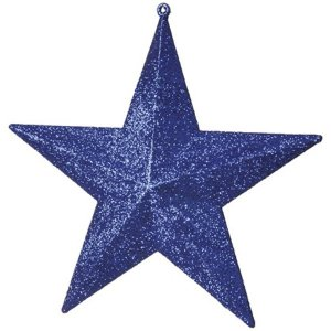 +CHR321 Star Glittered Blue