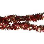 +CHR306 Rag Garland Red-Gold
