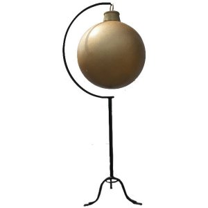 +CHR206G Giant Xmas Ball Gold Glitter