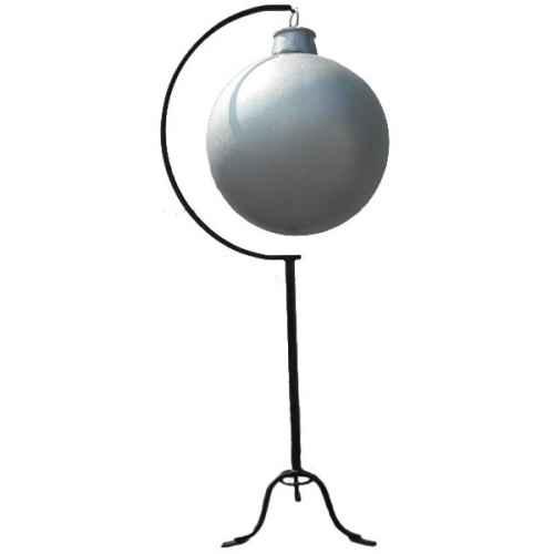+CHR206S Giant Xmas Ball Silver Glitter
