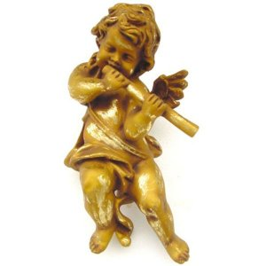 +CHR221C Angel with Flute Hanging