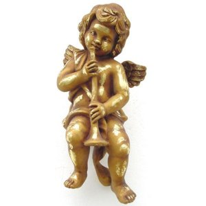 +CHR221A Angel with Trumpet Hanging