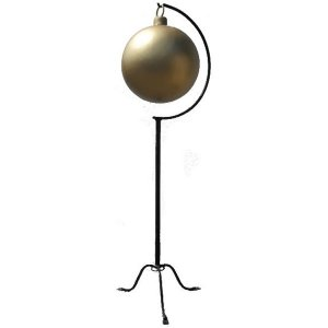 +CHR207GM Large Xmas Ball Gold Matt