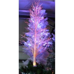 +CHR312C Twig Tree LED changing