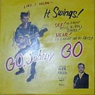+FIF101C 50's Poster Flat Go Johny GO web