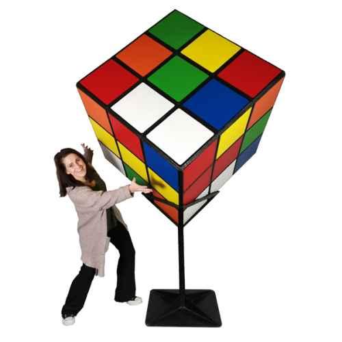 EIG201 Rubik Cube with Staff