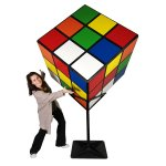 EIG201 Rubik Cube with Staff