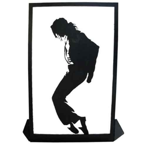 +EIG118A Silhoutte Panel Michael Jackson web