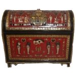 +EGY224 Egyptian Decorative Trunk