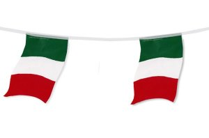 +FLA104.1 Italy Bunting Small Plastic