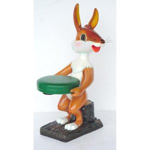 FUR352 Rabbit Stool