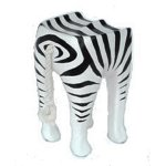 FUR353 Zebra Stool