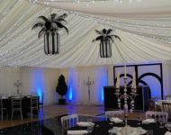 Black & White theme in marquee